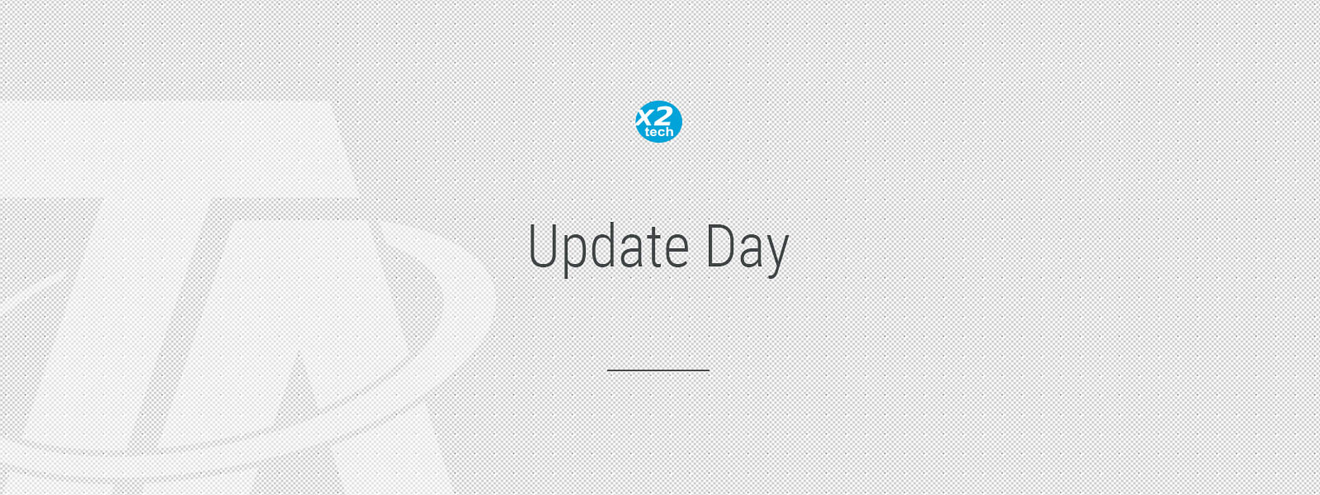 Grafik x2-tech Update Day